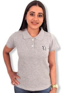 Camisa Polo Lobo Piquet Feminina - Feminino