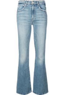 Mother Bootcut Jeans - Azul