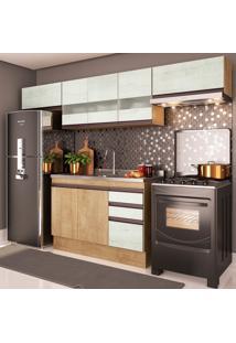 Cozinha Compacta Amália I 8 Pt 2 Gv Nogueira E Gelo