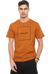 Camiseta Cavalera Box Caramelo