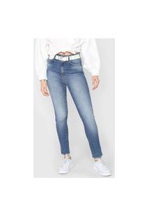 Calça Jeans Colcci Skinny Bruna Stretch Azul
