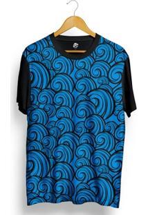 Camiseta Bsc Arabesco Full Print - Masculino