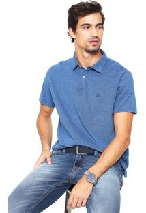 Camisa Polo Richards Urban Azul