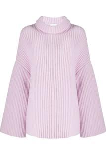 Nanushka Suéter Oversized - Roxo