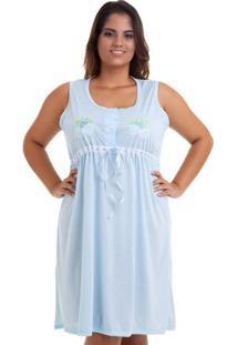 Camisola Plus Size Regata Feminina Adulto Luna Cuore