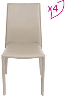 Jogo De Cadeiras De Jantar Glam- Fendi- 4Pã§S- Oror Design