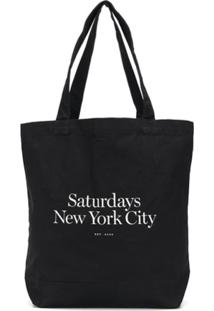 Saturdays Nyc Bolsa Tote Miller Standard - Preto