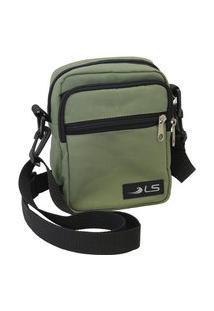 Bolsa Shoulder Bag Verde Ls Bolsas Sb5015