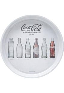 Bandeja Coca-Cola® Evolution Of Bottles- Cinza & Marrom