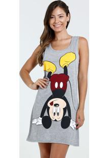 Camisola Feminina Mickey Nadador Disney