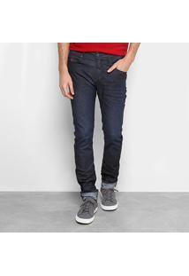 Calça Jeans Reta Forum Masculina - Masculino-Jeans