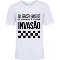 Camiseta Zé Carretilha Corinthians Invasão Masculina - Masculino e0557fcfe7420