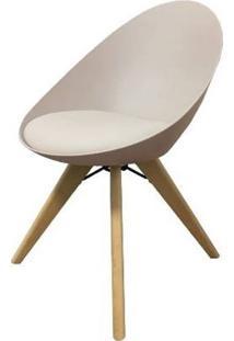 Cadeira Labia Nude Pes Madeira 55Cm - 60534 - Sun House