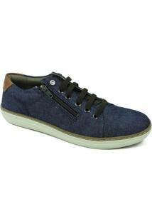 Sapatênis West Coast - Masculino-Jeans