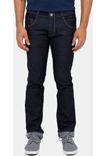 Calça Jeans Slim Biotipo Escura Masculina - Masculino