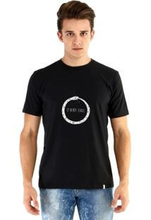 Camiseta Ouroboros Manga Curta It Never Ends Masculina - Masculino