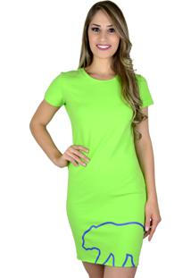 7b5d170355 Vestido Verde Vermelho feminino