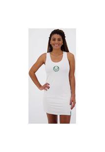 Vestido Palmeiras Authentic Sport Branco