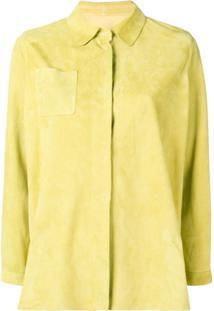 Sylvie Schimmel Shirt Jacket - Amarelo