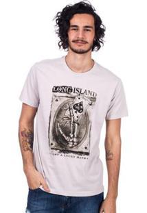 Camiseta Long Island Lucky Masculina - Masculino