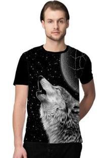 Camiseta Stompy Space Man Masculina - Masculino-Preto