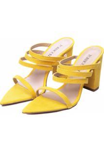 Sandália Torricella Amarelo