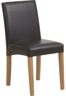 Cadeira Iolanda - Couro Preto