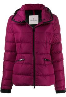 Moncler Short Down Filled Jacket - Roxo