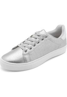 Tênis Dafiti Shoes Cobra Prata