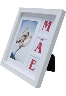 Porta Retrato Mãe 22X22Cm Branco