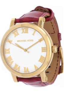 bb68e654d9380 Michael Michael Kors Relógio De Pulso Analógico - Red
