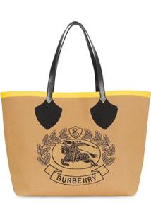 Burberry Bolsa Tote The Giant - Amarelo