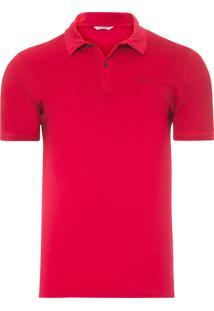 Polo Masculina Regular Rio 2016 - Vermelho