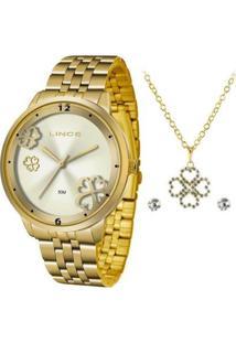 Relógio Lince Lrgj098Lkv98C2Kx Feminino - Feminino-Dourado