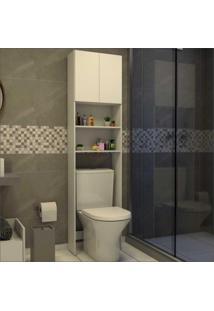 Armário Banheiro P/ Vaso Sanitário 2 Ptas Aspen Multimóveis