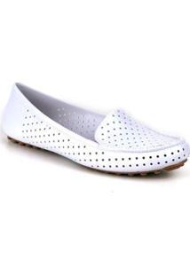 Mocassim Tag Shoes Pvc Colors Feminino - Feminino