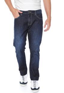 Calça Jeans Forum Slim Paul Azul-Marinho