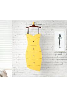 Cômoda Dress Amarelo Laca M40