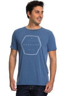 Camiseta Quiksilver Nothern Nomad Masculina - Masculino-Azul