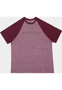 Camiseta Quiksilver Plus Size Especial Raglan Pack Iii Masculina - Masculino