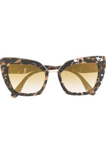 Dolce & Gabbana Eyewear Óculos De Sol Cuore Sacro - Preto