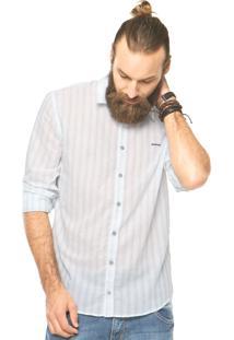 Camisa Sommer Listras Branca