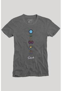 Camiseta Reserva Elementos - Masculino-Preto
