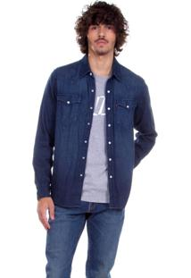 Camisa Levis Jeans Classic Western Indigo