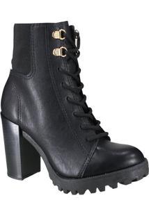 Bota Moleca Ankle Boot Feminina