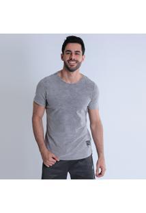 Camiseta Masculina Km Alongada