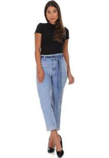 Calça Jeans Sawary Feminina - Feminino