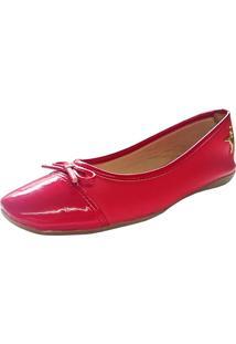 Sapatilha Ballare Urbana Vermelha