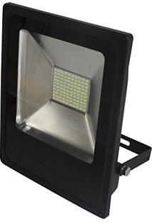Refletor Led Slim 50W Luz Branca 6.000K Bivolt-Blumenau-74506000