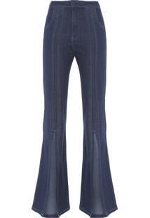 Calça Feminina Flare Versailles - Azul